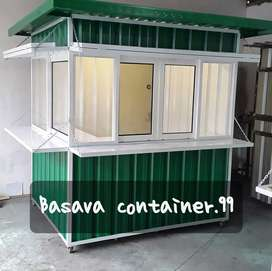 Booth container- container usaha- booth makanan- booth bazzar- booth