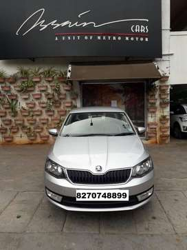 Skoda Rapid Ambition 1.6 TDI CR Manual Plus Alloy, 2017, Diesel