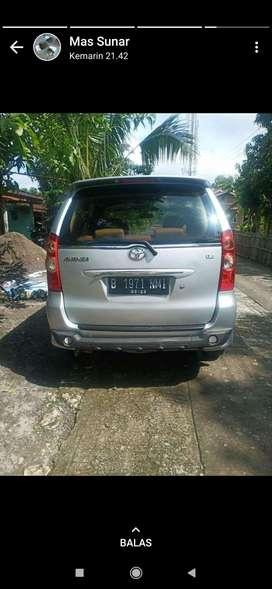 Toyota Avansa 2011 type G