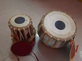 Tabla set with cover