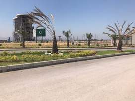 Residential kanal plot available for sale in Sector A, DHA.