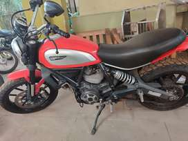 Scrambler Ducati in very good condition for sale