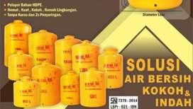 Tandon air 1100 liter merk new88 bahan plastik tebal