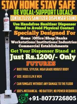 Contactless Sanitizer Dispenser Stand