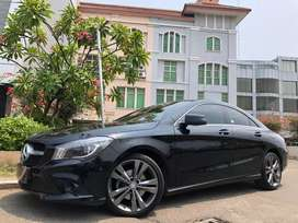CLA200 Urban 2015 Black On Black Km10rb Record Elec.Seat TDP Ringan