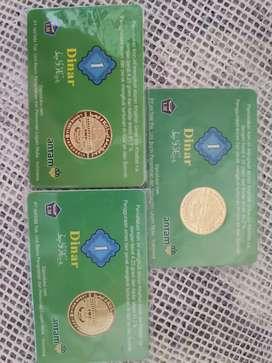 DiJual Dinar dan Emas Antam Retro
