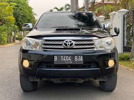 Toyota fortuner G lux bensin AT 2008 facelift antik