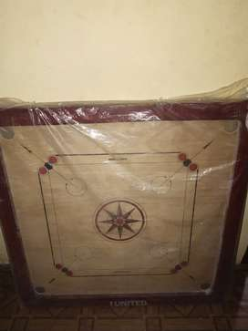Carom board new one not use