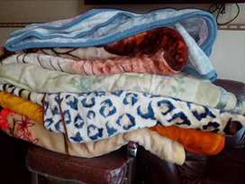 Korean plush blankets imported for sale more quantity available