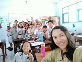 Mencari pekerjaan sebagai guru les privat bahasa Inggris anak SD