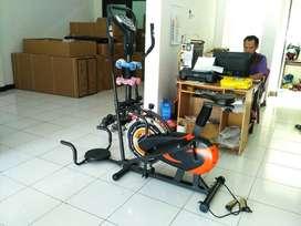 Sepeda statis orbitrack 5in1 - PROMO cod Cimahi/Bandung gratis ongkir