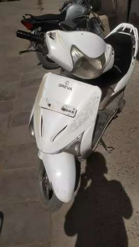 Oreva electric bike no helmet rc challan pollution documents require