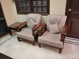 7 Seater Sofa with center & side tables