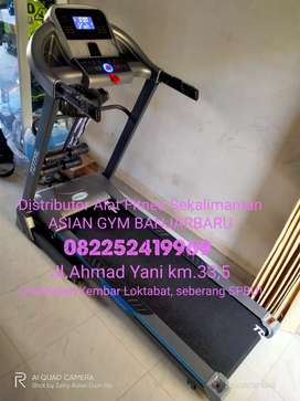 Ready treadmill elektrik auto incline 2hp, tampilan elegan