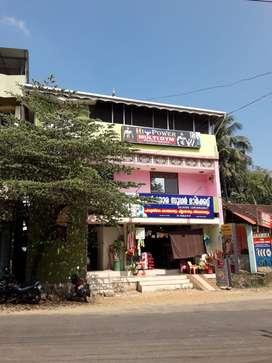 First Floor Commercial Property for Rent-Vithura Junction,Trivandrum