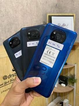 Xiaomi Poco X3 Nfc 6/64gb mulus fullset bergaransi. Bisa TT