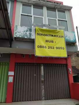 Disewakan murah Ruko 2lt lokasi strategis daerah Lemahabang Bandungan