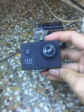 Full hd 1080mp Camera with water proof case only 1month old