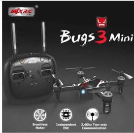 Drone MJX RC Bugs 3 Mini Brushless Acro and Angle Mode 7.4V 850mAh 45C