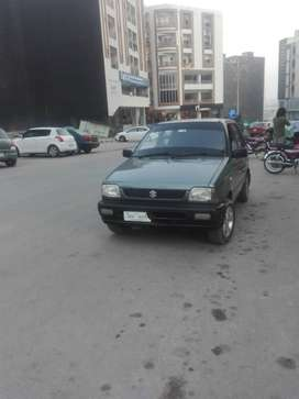 Mehran available for rent with driver pindi ,isb and any place
