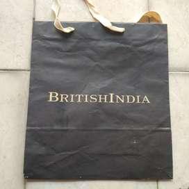 Paperbag british india