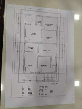 Ground floor for sale Rs 50lakhs