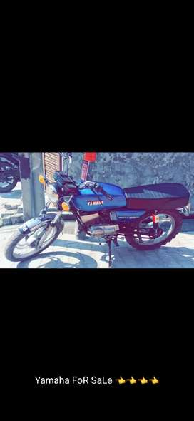 Yamaha rx135 Canditon bilkul saaf