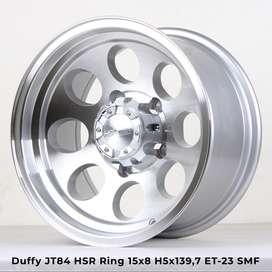 warna DUFFY JT84 HSR R15X8 H5X139,7 ET-23 SMF