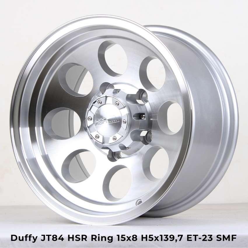 warna DUFFY JT84 HSR R15X8 H5X139,7 ET-23 SMF 0
