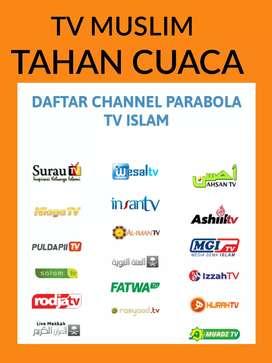 Tv islami untuk keluarga : by graha parabola