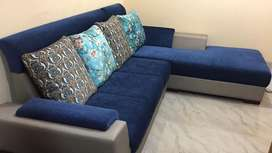 Perfect condition sofa for sale less used selling due to onsite
