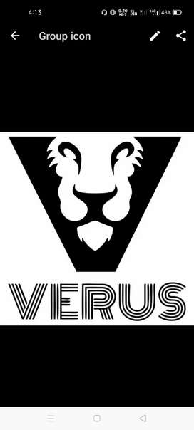 Official work for verus brand