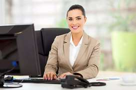 need female receptionist and female and male sales marketing