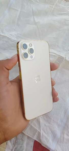 Gold iPhone 12 pro In brand new condition