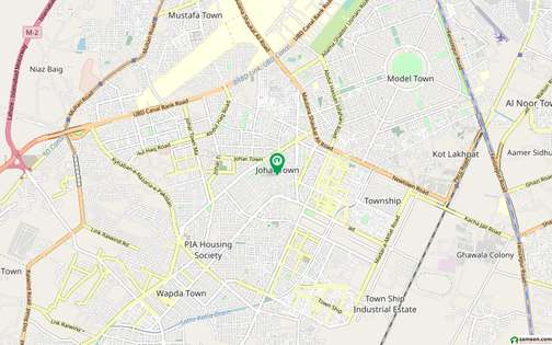 10 Marla House Ideally Situated In Johar Town