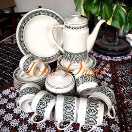 Tea set jadul, merk Kun Lun buatan China
