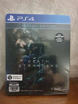 Kaset Games PS4 spesial edition Death stranding