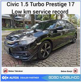 Civic Turbo Prestige at 2017 Low km record antik