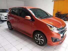 AYLA 1.2 R deluxe 2017, Matic, Km 18 rb, Dp 12.5 jt
