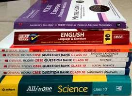 Class 10 text ncert and Allen book set