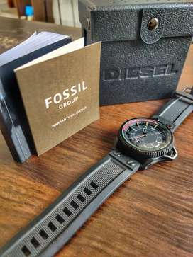 Diesel DZ1760 used wrist watch with box + booklet