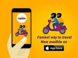 Tirupati Rapido Wanted Bike Riders and food delivery boys