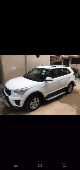 Hyundai Creta  Vip no with company service records and accessories