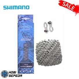 Rantai Sepeda SHIMANO Deore LX 105 CN-HG73 Untuk 9 speed