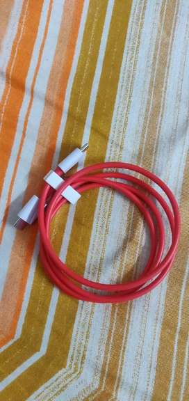 OnePlus Wrap Charge TypeC Cable 100 cm USB(TypeC) to USB(Type-C) cable
