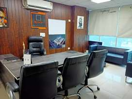 30 workstion 3 cabins 1 conference furnished office available in Noida