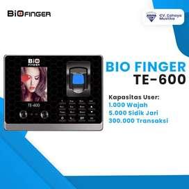 Harga Mesin Absensi Sidik Jari Dan Wajah di Malang Bio Finger TE-600