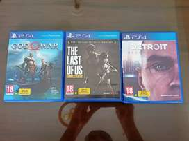 Pack of 3 PS4 games