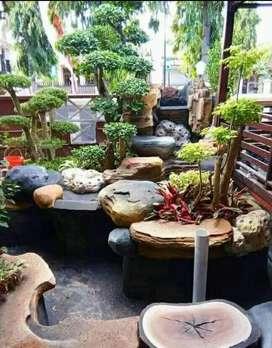 Pajri tukang kolam taman dekorasi