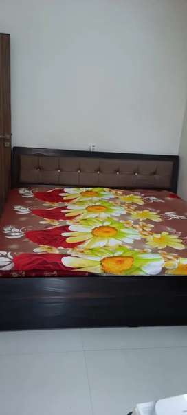 King Size Bed with Matress + Tushok for 20K only. TV unit for only 25K